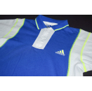 Adidas Polo Poloshirt T-Shirt Vintage Neon Casual 90s...