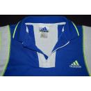 Adidas Polo Poloshirt T-Shirt Vintage Neon Casual 90s 90er Tennis Kids L D 164