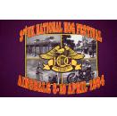 Harley Davidson T-Shirt Vintage UK National Hog Festival 1994 Motorcycles Bike L