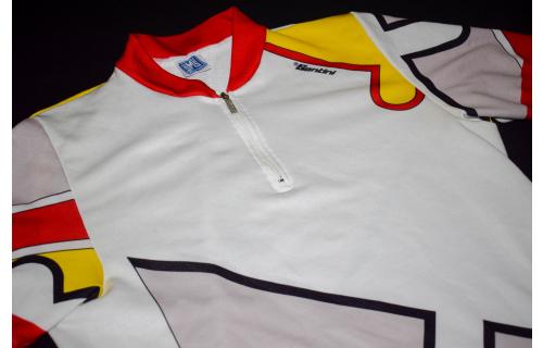 SMS Santini Trikot Rad Bike Jersey Maillot Maglia Camiseta Shirt Vintage VTG XL