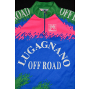 SMS Santini Trikot Rad Bike Jersey Maillot Maglia Camiseta 90s Lugano Offroad XL
