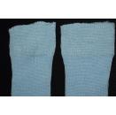 Adidas Socken Socks Sox Plüsch Sport Vintage West Germany Hell Blau 30-33  NEU