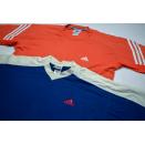 2x Adidas T-Shirt TShirt Vintage Top Fitness Sport Blau...