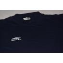 UMBRO T-Shirt TShirt Sportswear Casual Oldschool Blau...