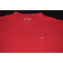 Adidas Pullover Fleece Sweat Shirt Sweater Jumper Rot...