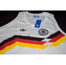 Adidas Deutschland Tank Top T-Shirt Trikot Jersey 1990...