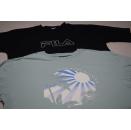 2x FILA T-Shirt Spellout Vintage Retro Tennis Casual...