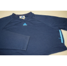 Adidas Crop Top Pullover Sweat Shirt Bolero Blau Blue...