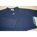 Adidas Crop Top Pullover Sweat Shirt Bolero Blau Blue...