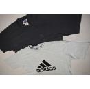 2x Adidas T-Shirt Sport Fitness Trefoil Logo Casual Clean...