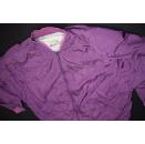 Vintage Bomber Jacke College Jacket Baseball Lila Purple...