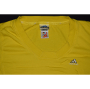 Adidas Crop Top Pullover Sweat Shirt Sweatshirt Gelb...
