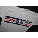 FILA T-Shirt TShirt Vintage 90er 90s Casual Graphik...
