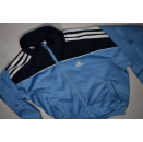 Adidas Trainings Jacke Sport Jacket Jogging Fitness Blau...