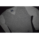 Woolrich Strick Pullover Sweater Sweat Shirt Casual Grau...