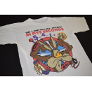 Coyote T- Shirt will self destruct Looney Tunes Warner...