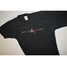 Nike Air Jordan T-Shirt Man or Machine Vintage  90s 90er...