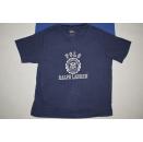 2x Polo Ralph Lauren T-Shirt Spellout Vintage Blau Blue...