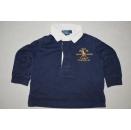 Polo Longsleeve Shirt Pullover Ralph Lauren Rugby Jockey...