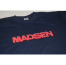Madsen T-Shirt Deutsch Indie Rock Pop Spellout Tour Band...