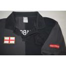 Nike Polo Shirt Diabos Vermehlos Manchester United Benfica Lisboa Ultras Gr. XL