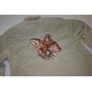 Jagd Jeans Hemd Shirt Distressed Vintage Backpiece Jagen...