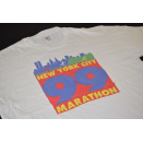 Vintage T-Shirt New York City Marathon USA 1999 90s 90er...