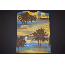 Benetton Kleid Vacation Palm Tree Palmen Urlaub T-Shirt...