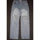 Armani Jeans Hose Vintage Pant Denim Straight 90er 90s...