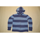 Polo Ralph Lauren Pullover Jacke Sweater Jacket Streifen...