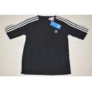 Adidas Originals 3 Stripes Tee Shirt DX3695 Schwarz Black...