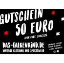 Geschenk Gutschein 50 Euro Gift Voucher Bueno Bono Regalo...
