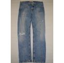 Levis Jeans Hose Levi`s Pant Denim Trouser Distressed...