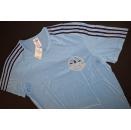 Adidas T-Shirt TShirt Trikot Jersey Vintage Blau...
