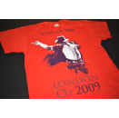 Michael Jackson T-Shirt King of Pop London 2009 Pop Music...