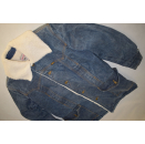Lee Jeans Jacke Storm Rider Jacket Denim Vintage Sherpa...