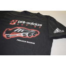 Adidas T-Shirt Vintage Fussball 90s 90er 1997 Cleat DFB...