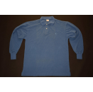 Champion Polo T-Shirt Longsleeve Vintage Deadstock Casual...