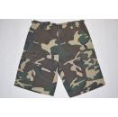 Bermuda Jeans Kurze Hose Short Vintage Denim Rap Hip Hop...