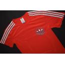 Adidas T-Shirt TShirt Trikot Jersey Vintage 80er 80s Rot...