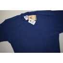 Adidas T-Shirt TShirt Vintage 90er 90s  Embossed Tee Blau...