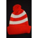 Fussball Fan Strick Knitting Mütze Hat Winter Beanie...