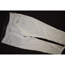 Lee Jeans Hose Pant Trouser Manichetta Denim Weiß...