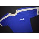 Puma Trikot Top Jersey Maglia Shirt Top Retro Blau...