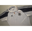 Adidas Deutschland Trikot Jersey EM 1999 DFB T-Shirt Maglia Camiseta Autogramme XL