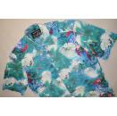 Marvelis Hemd Button Down All Over Print Shirt Hawai...