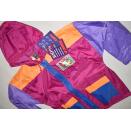 Jeantex Regen Jacke Rain Jacket Nylon Glanz Shiny PVC...