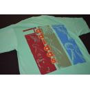Adidas T-Shirt TShirt Vintage Deadstock 90er 90s Basketball Big Print M NEU NEW