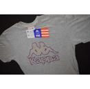 Kappa T-Shirt TShirt Team USA 90s 90er Grau Grey Casual...
