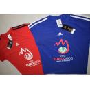 2x Adidas T-Shirt Uefa EM 2008 Austria Österreich...